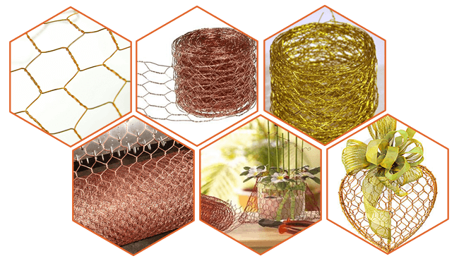 Hexagonal Wire Mesh Used for Chicken Wire and Gabion