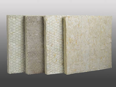Hexagonal metal mesh figures as insulation facing for Mineral wool insulation weight